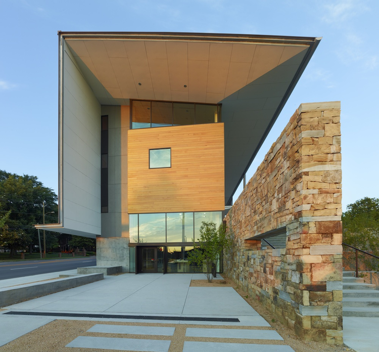 AIANC Center for Architecture and Design / Frank Harmon Architect, © Timothy Hursley