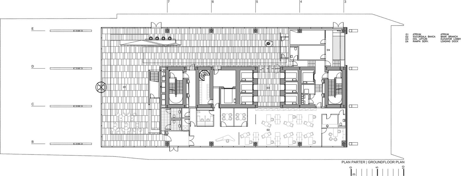 Gallery Of Unicredit ţiriac Bank Hq Westfourth Architecture 22