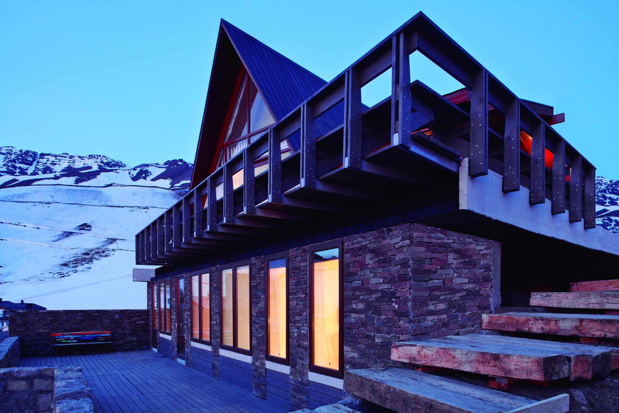 Refugio La Parva / elton+léniz arquitectos asociados, © Natalia Vial