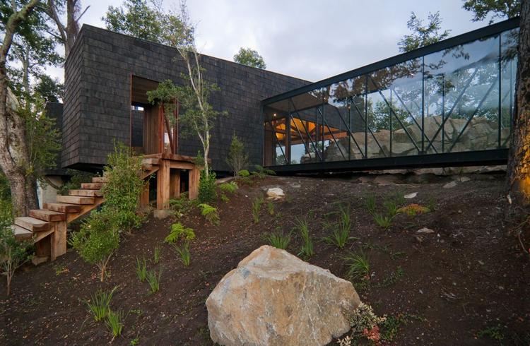 Casa Ranco / elton+léniz arquitectos asociados, © Marcos Mendizabal