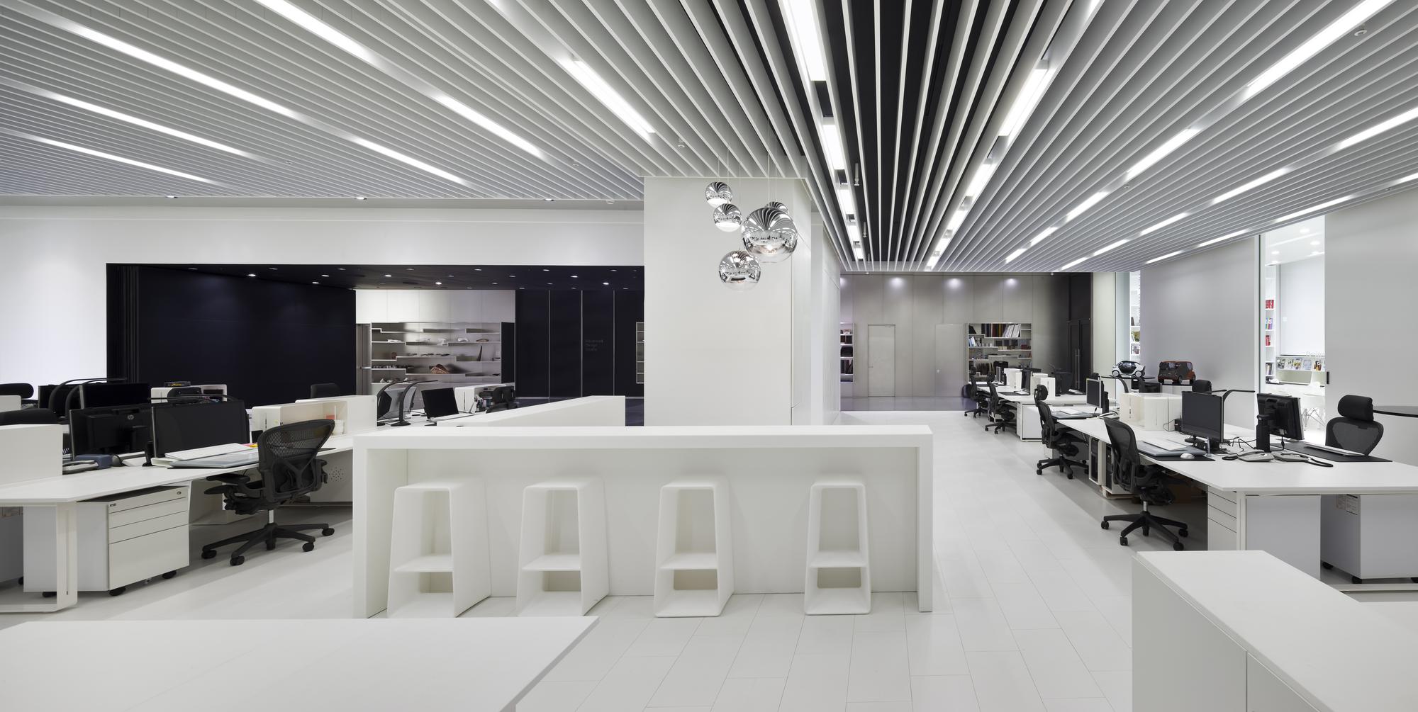 Modern Home Library Interior Design Gallery Of Hyundai Advances Design Studio Delugan Meissl