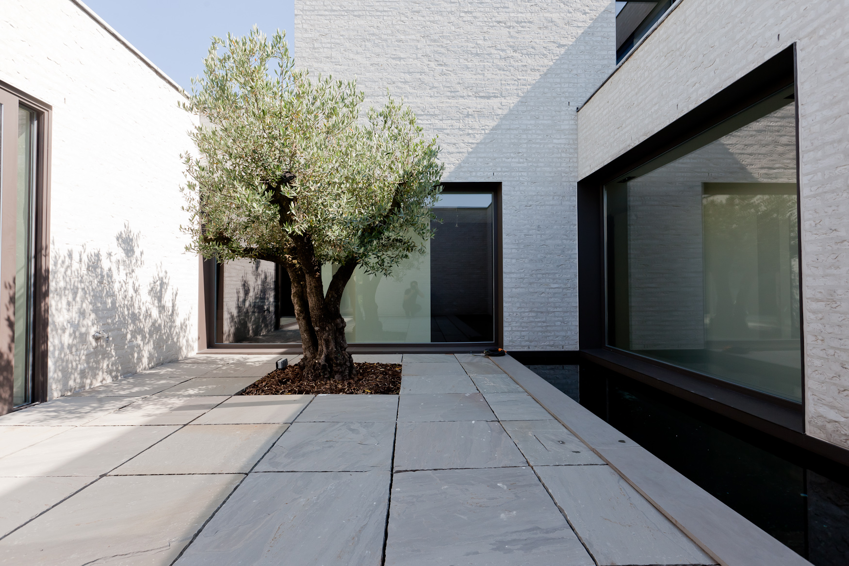 Gallery Of Courtyard House VW Areal Architecten 10