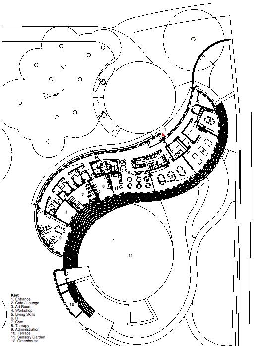 The Curve Floor Plan Thefloors Co