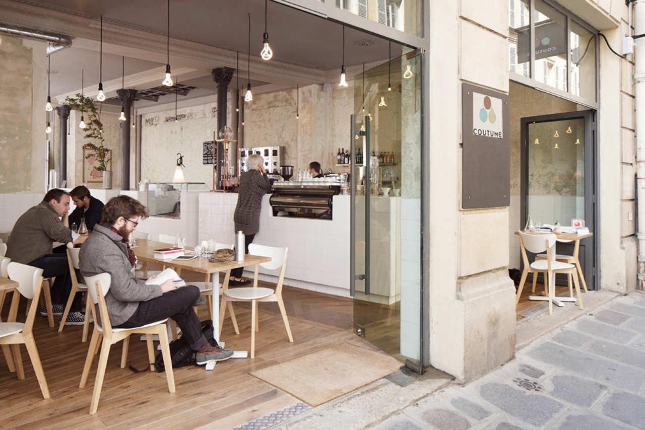 Coutume café 47 rue de babylone cut architectures