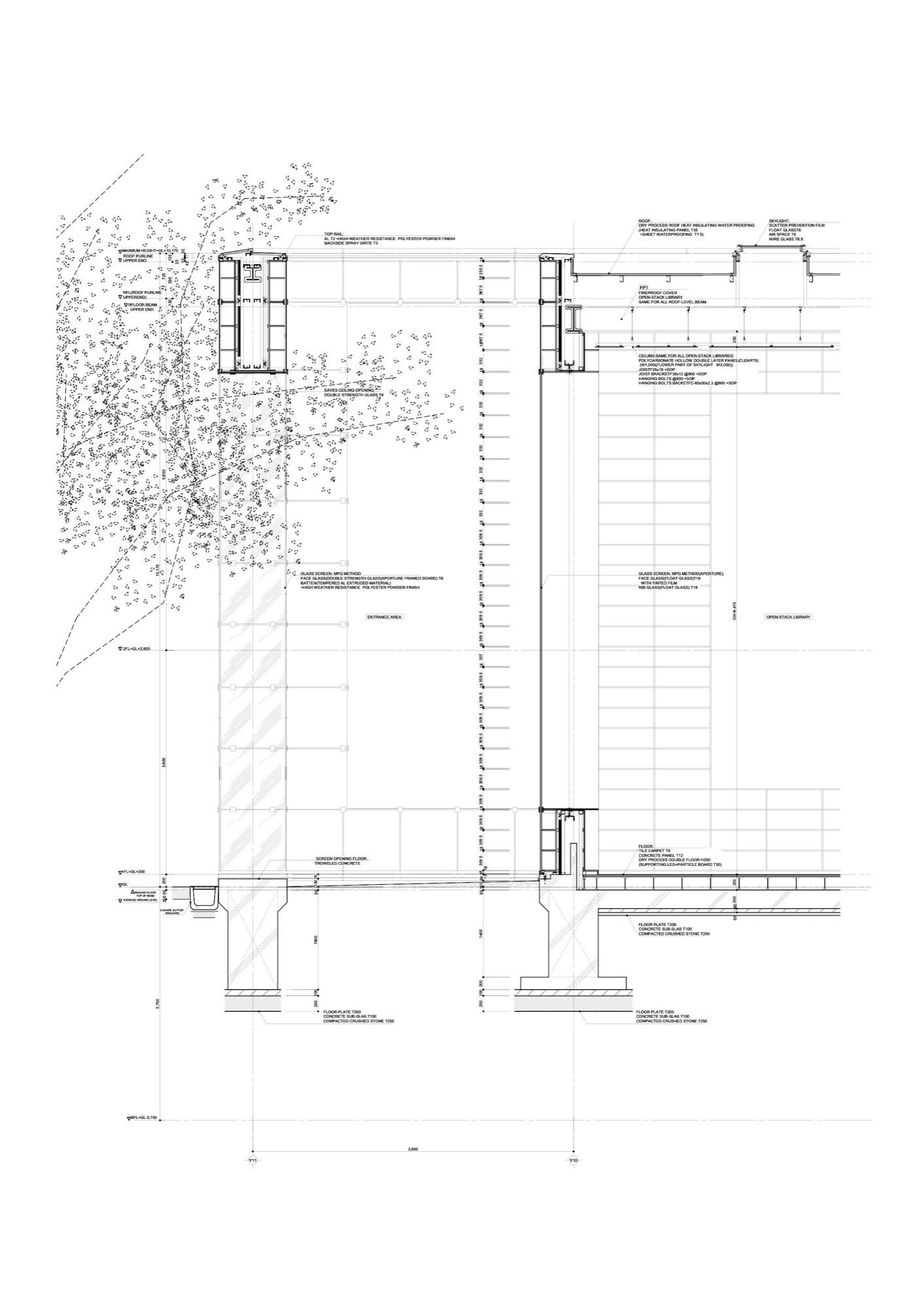 Small Art Gallery Floor Plan Gallery Of Musashino Art University Museum Amp Library Sou