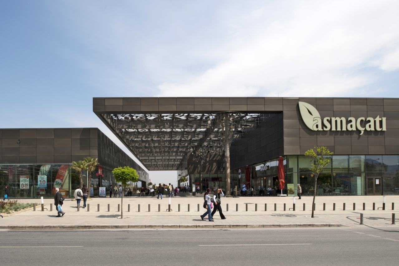 Asmacati shopping center tabanlioglu architects archdaily for Architecture 00