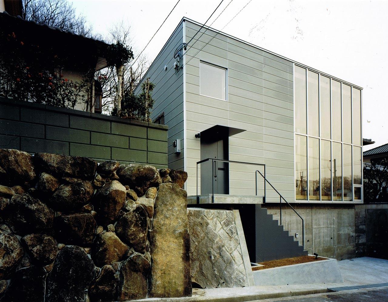 wood block house tadashi yoshimura architects archdaily. Black Bedroom Furniture Sets. Home Design Ideas