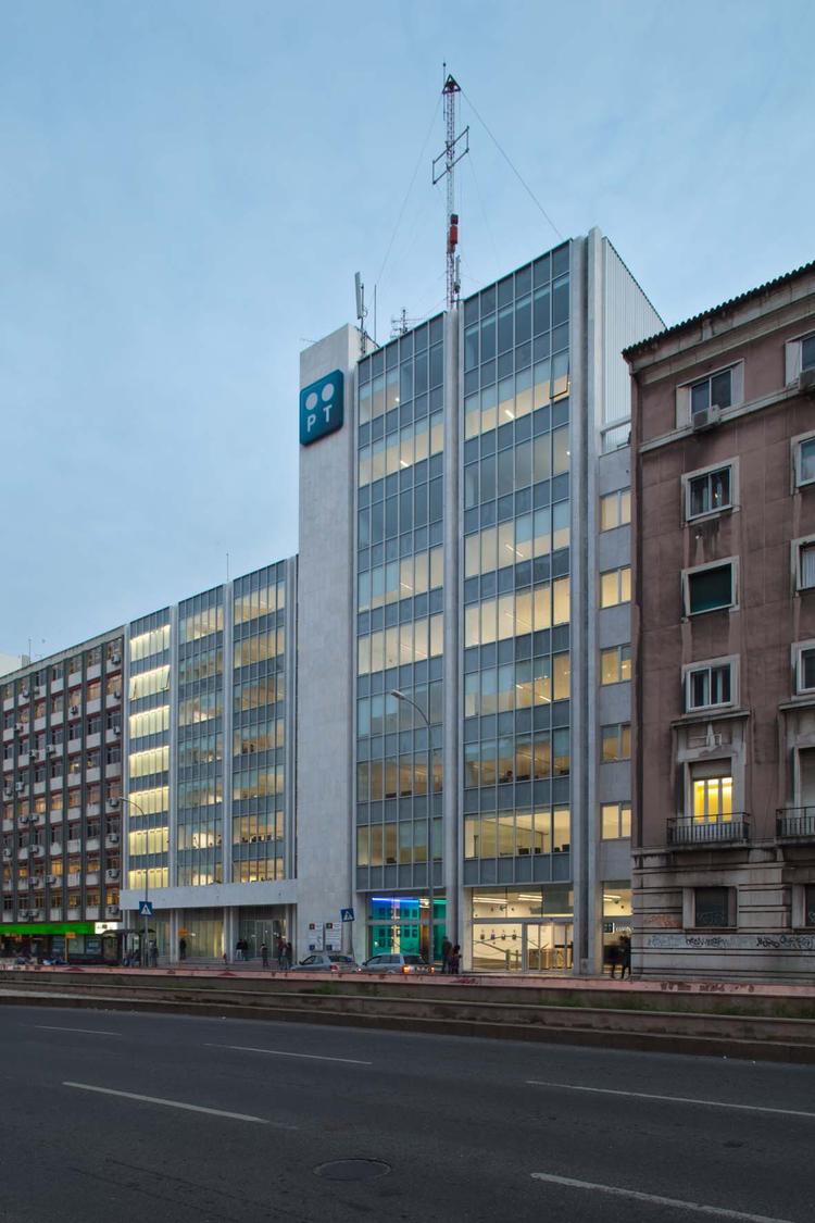 Edifício de Escritórios da Telecom / Oficina Ideias em Linha, © Francisco Nogueira