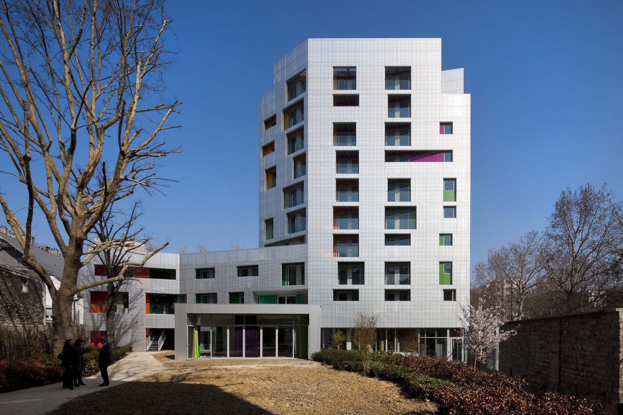 Young Workers Residence / aasb_agence d'architecture suzelbrout, © Hervé Abbadie
