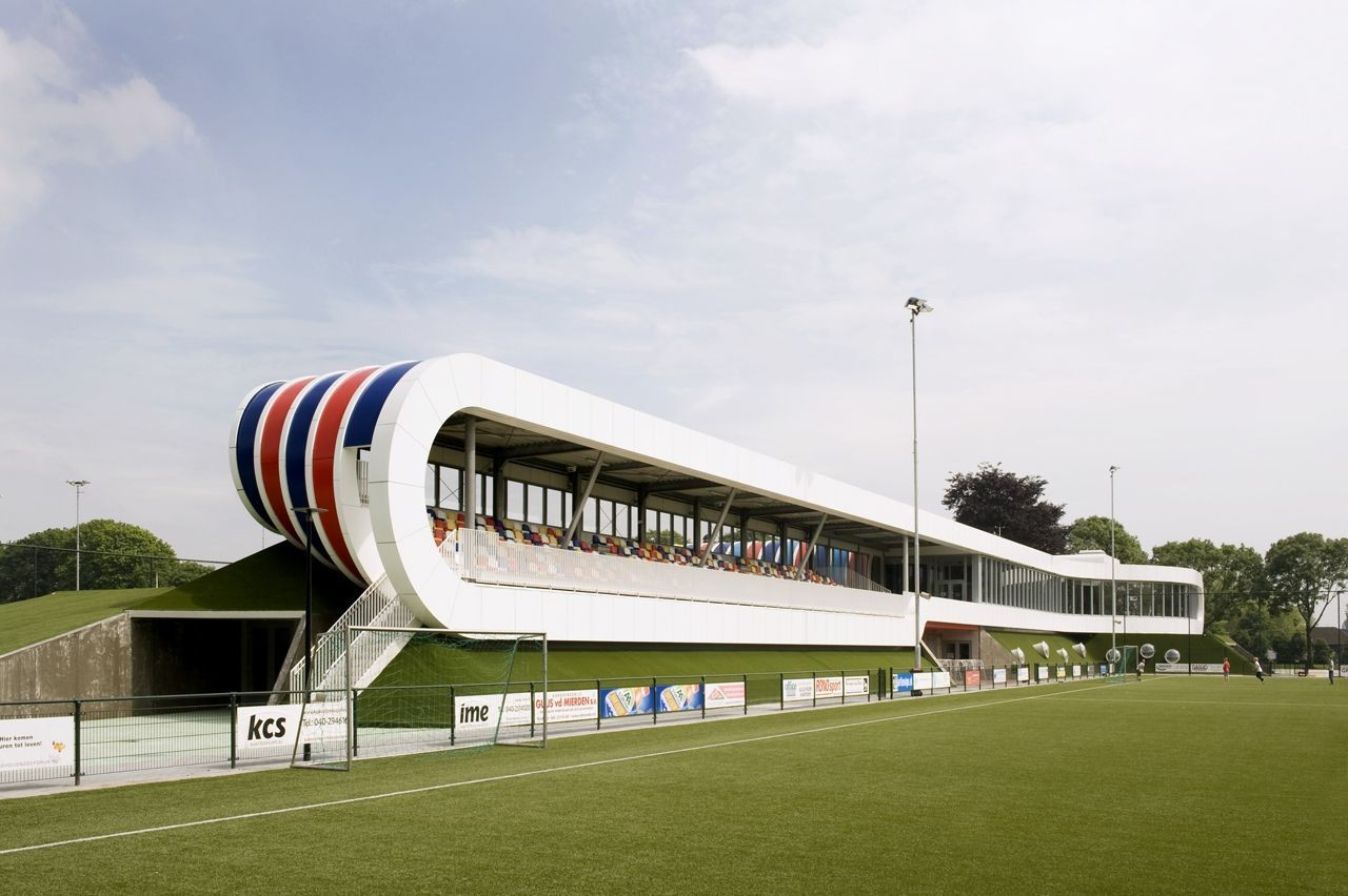 Sports Facility Strijp / LIAG architects, © Vulkers Fotografie