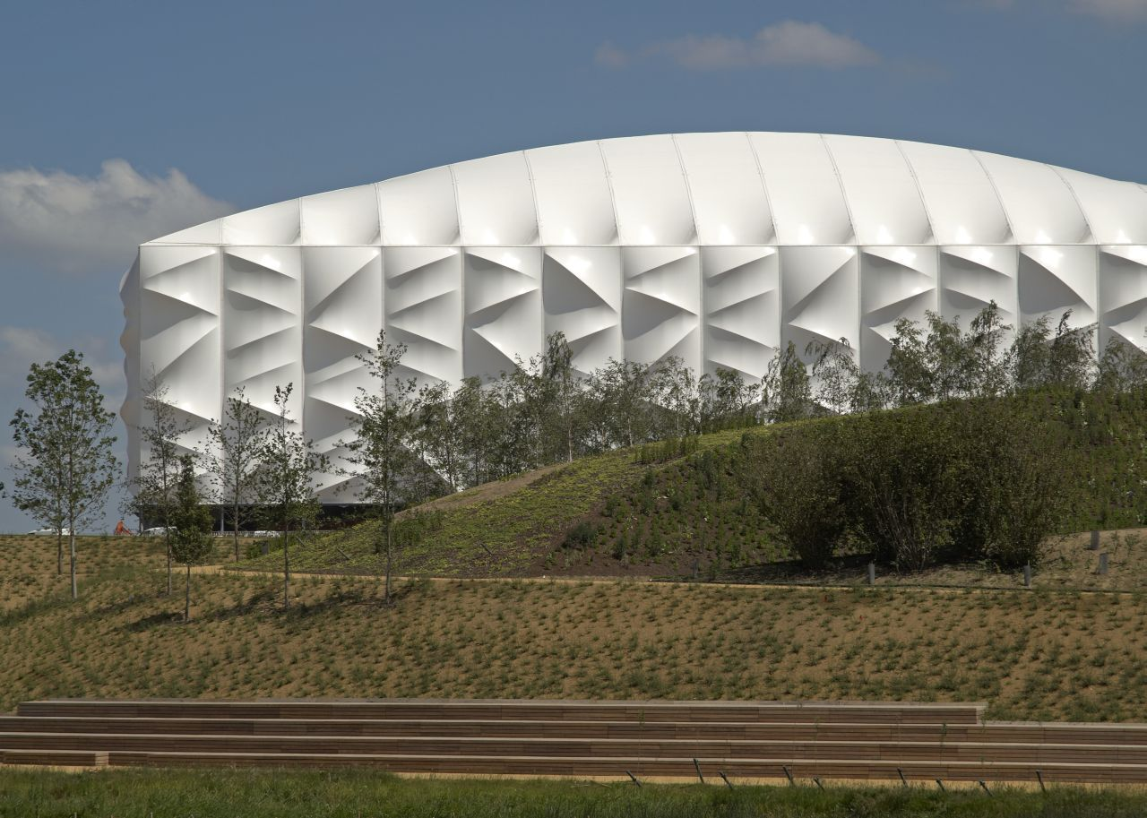 London 2012 Basketball Arena / Wilkinson Eyre Architects, © Edmund Sumner