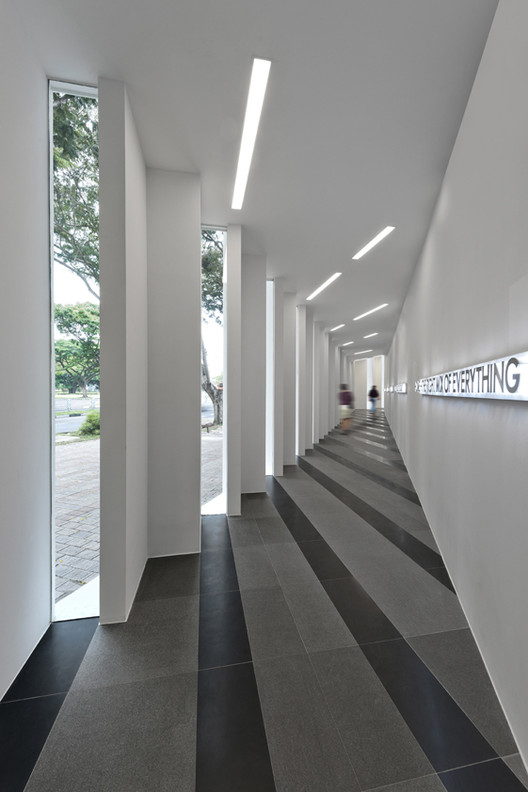 Uol Edge Gallery Ministry Of Design Archdaily