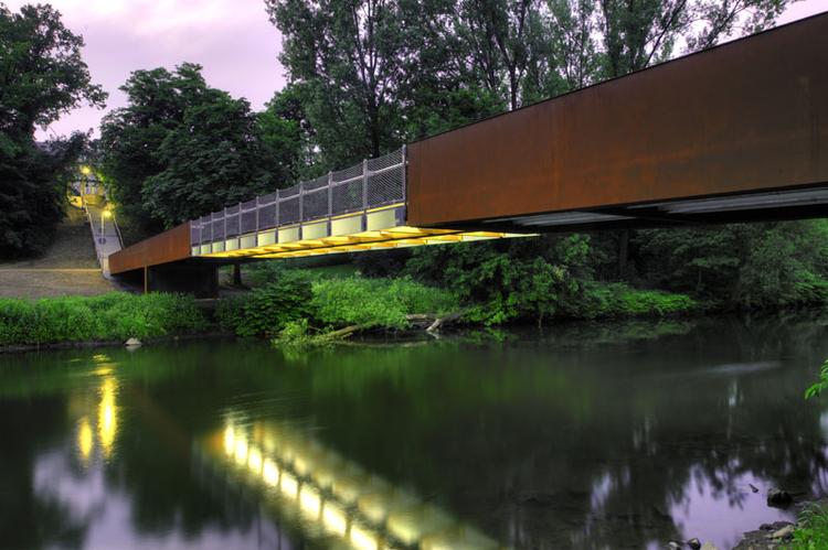Puente Wupper en Obladen  / Ağırbaş & Wienstroer, © Thomas Mayer