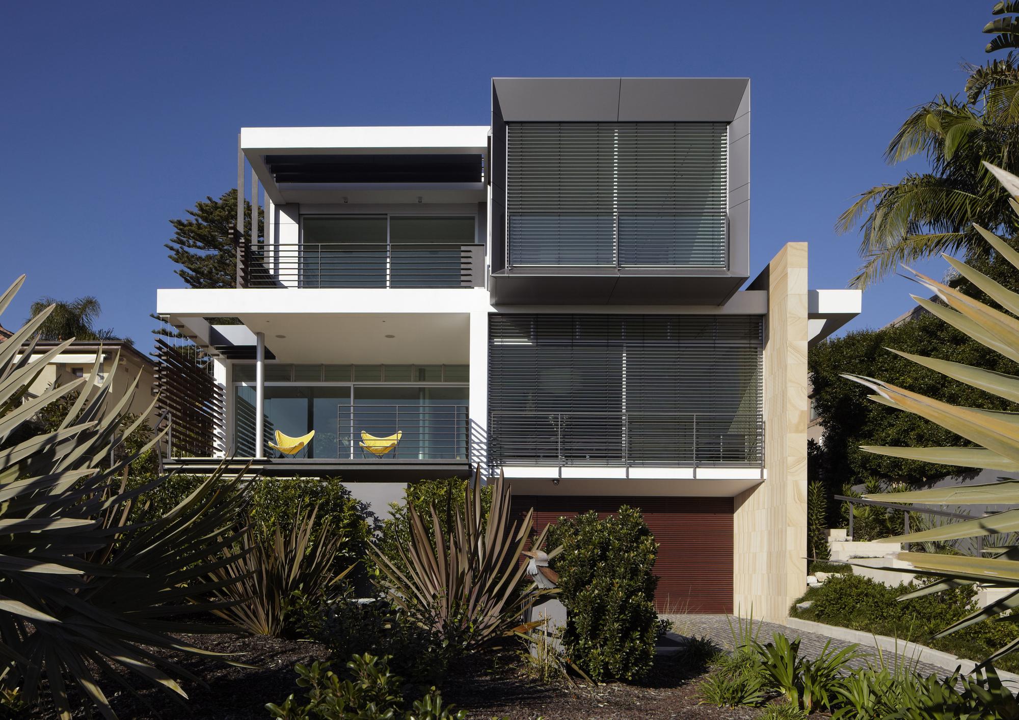 Wentworth Rd House / Edward Szewczyk Architects, © Justin Alexander