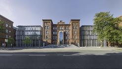 Hamburg-Harburg Technical University Extension / gmp Architekten