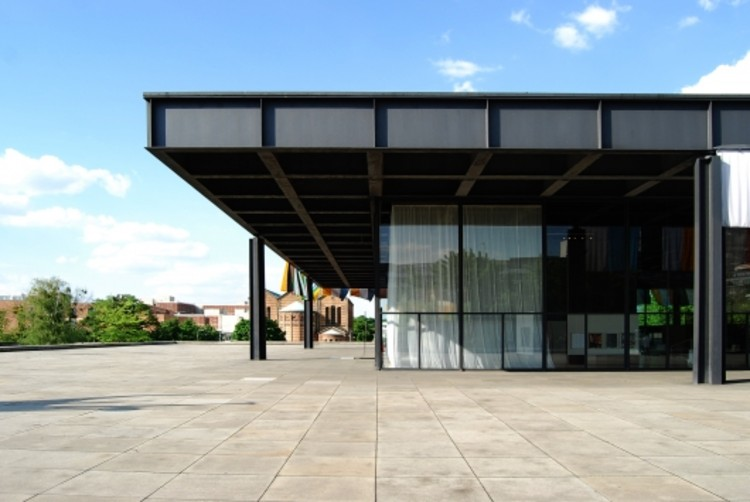 Neue National Gallery In Berlin Mies Van Der Rohe Archdaily