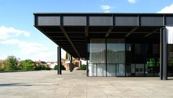 Neue National Gallery in Berlin / Mies van der Rohe