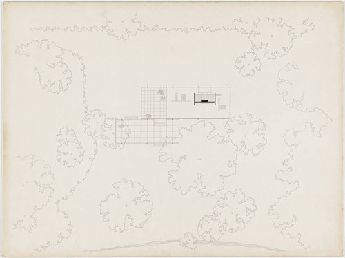 Mies Der Rohe Farnsworth House Plan gallery of ad classics the farnsworth house mies der rohe 10