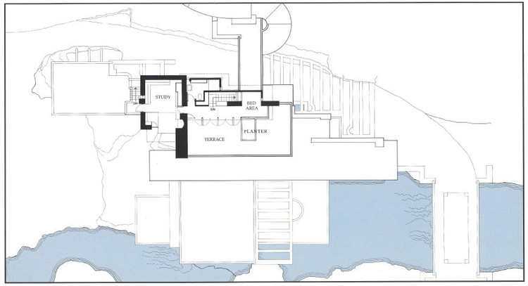 Ad Classics Fallingwater House Frank Lloyd Wright Archdaily