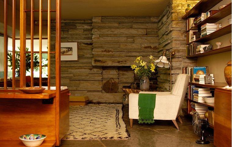 Gallery Of Ad Classics Fallingwater House Frank Lloyd