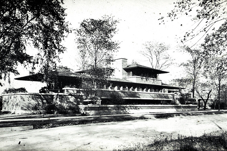 AD Classics: Frederick C. Robie House / Frank Lloyd Wright, © Columbia University