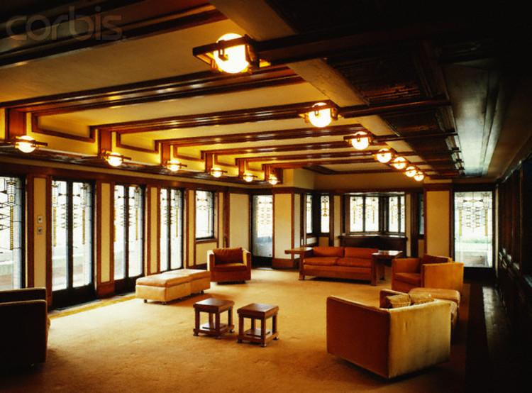Robie house interior design