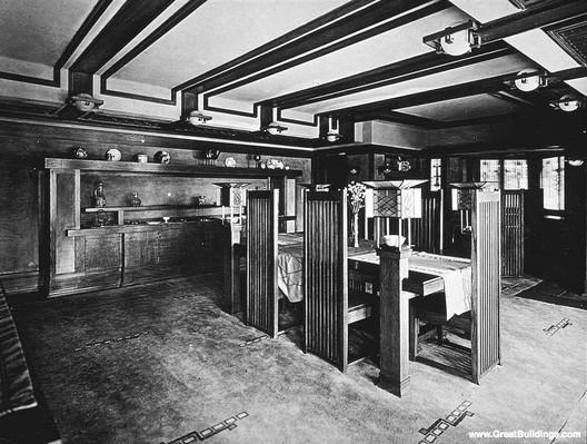 Ad Classics Frederick C Robie House Frank Lloyd Wright