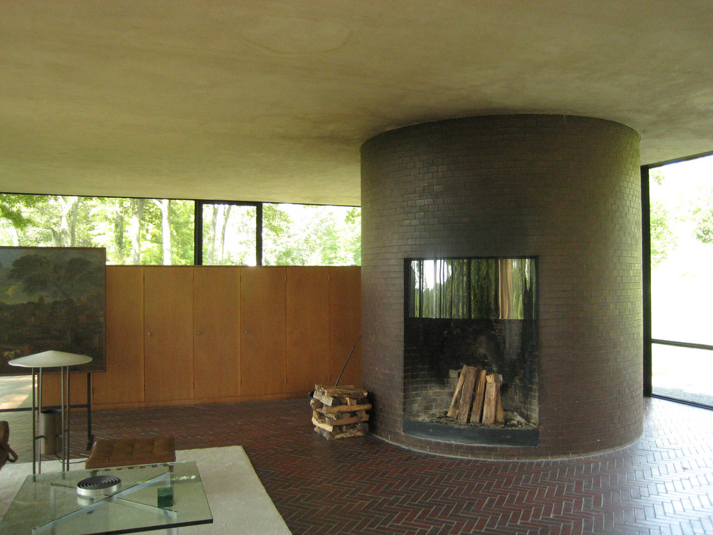 Philip Johnson Glass House gallery of ad classics the glass house philip johnson 4