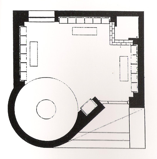Ad classics the glass house philip johnson archdaily for Glass house floor plans