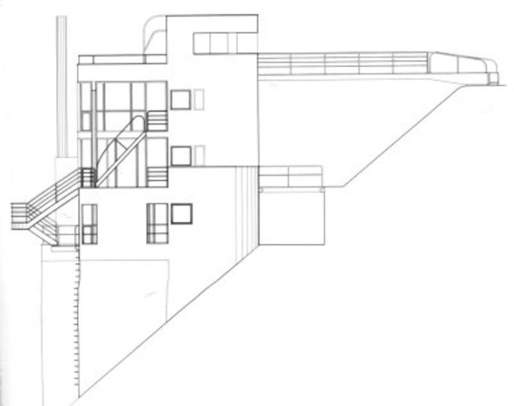 AD Classics Douglas House Richard Meier Partners – Meyer May House Floor Plan