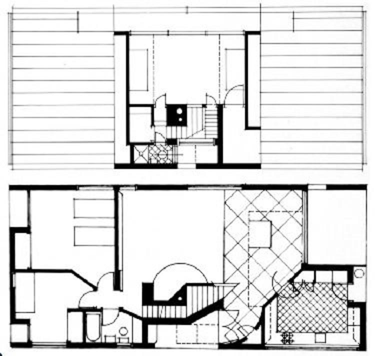 AD Classics Vanna Venturi House Robert Venturi – Upenn Housing Floor Plans