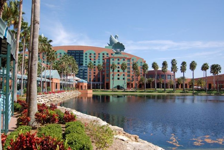 Ad Classics Walt Disney World Swan And Dolphin Resort Michael