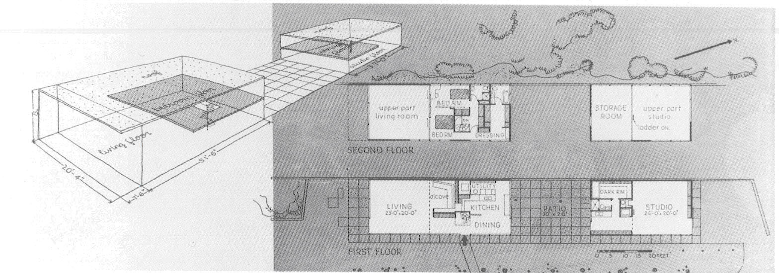 Gallery of ad classics eames house charles and ray for Adhouse plans