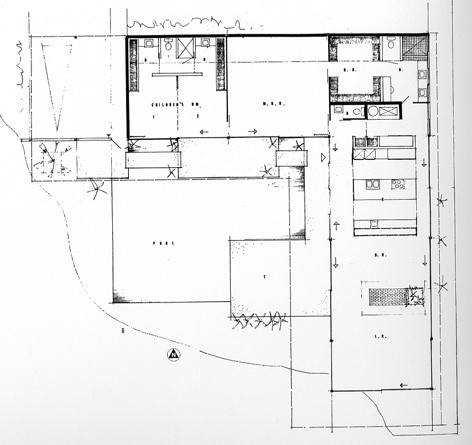 Ad classics stahl house pierre koenig archdaily for Case study houses floor plans