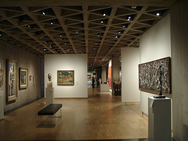 Gallery of ad classics yale university art gallery Art gallery interior design