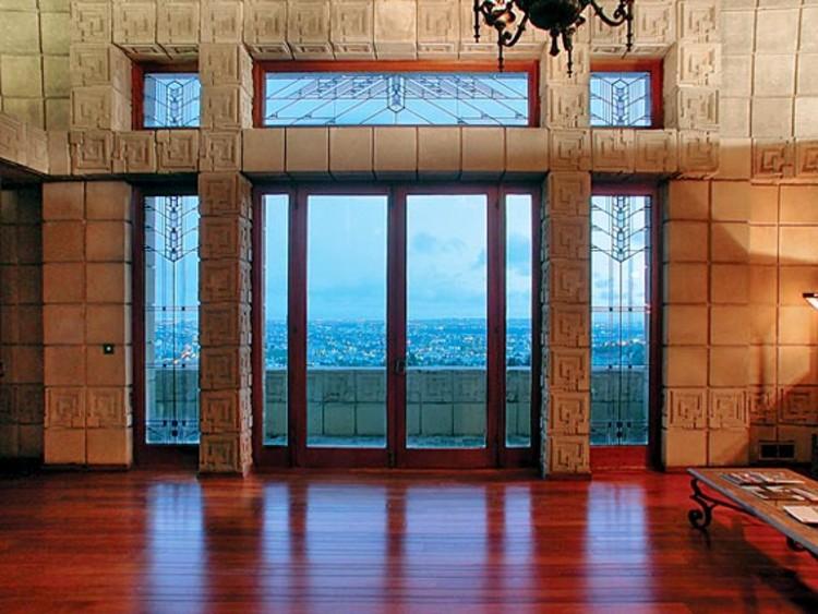 Ad Classics Ennis House Frank Lloyd Wright Archdaily