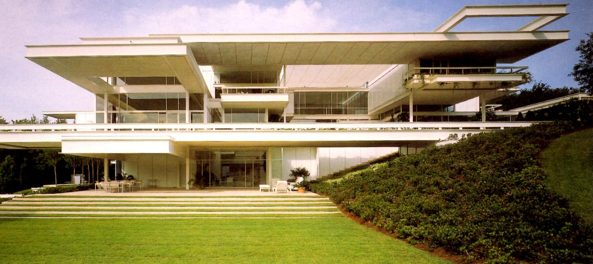 Ad classics bass residence paul rudolph archdaily for House building website