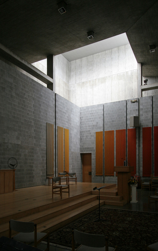 ad classics first unitarian church of rochester louis kahn archdaily. Black Bedroom Furniture Sets. Home Design Ideas