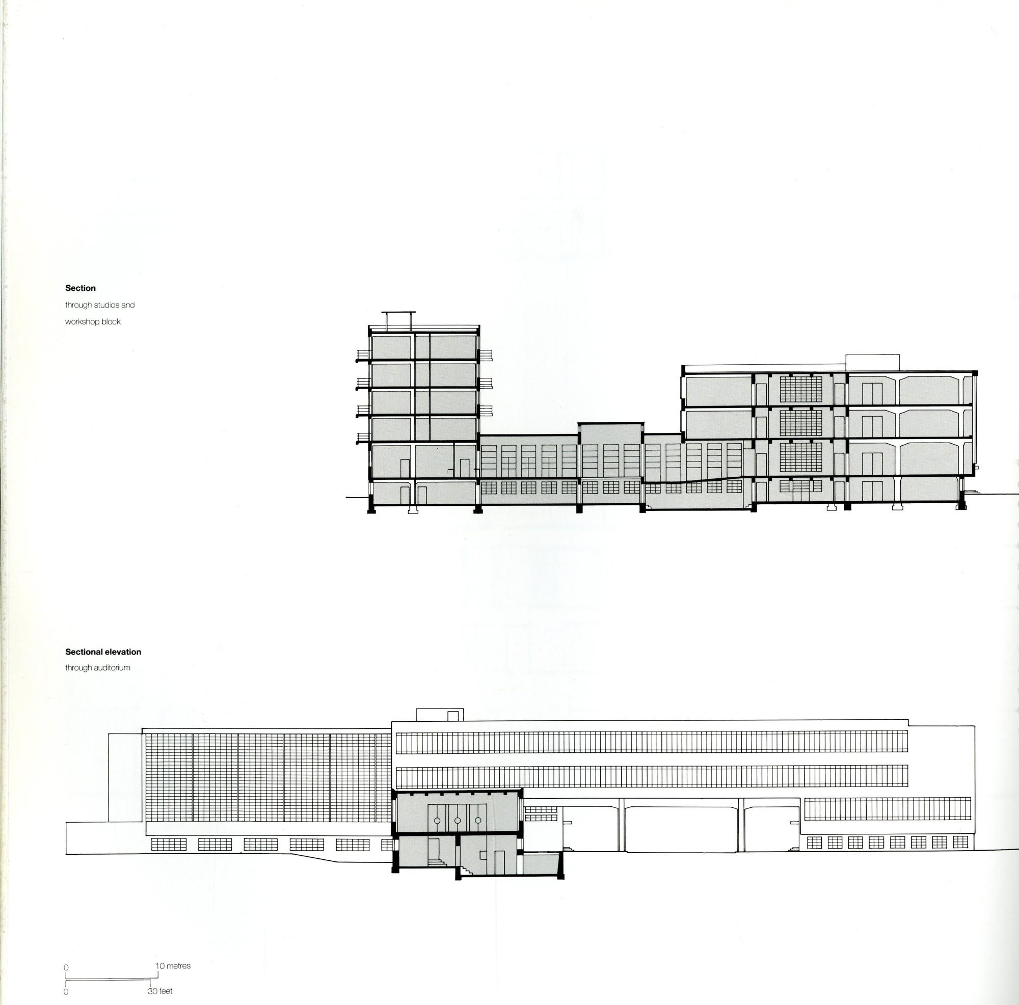 gallery of ad classics dessau bauhaus walter gropius 12. Black Bedroom Furniture Sets. Home Design Ideas