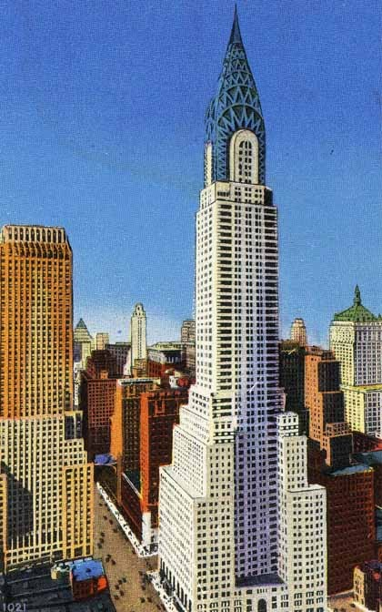 Gallery Of Ad Classics Chrysler Building William Van