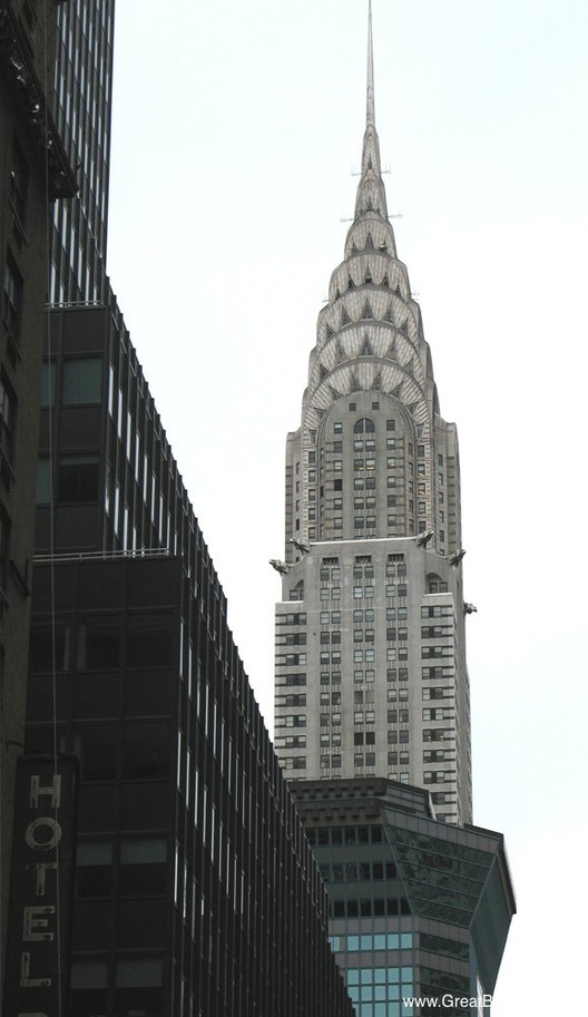 AD Classics Chrysler Building William Van Alen