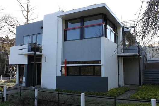 AD Classics Rietveld Schroder House Gerrit
