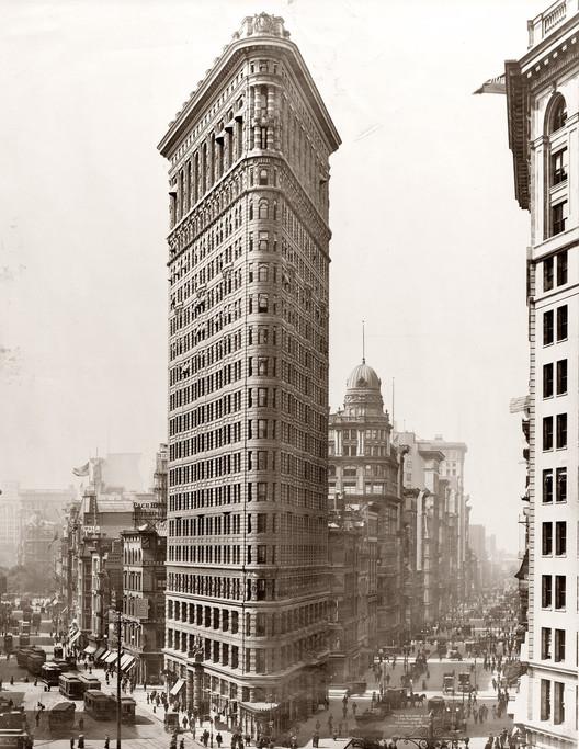 AD Classics: Flatiron Building / Daniel Burnham, © wikimedia commons