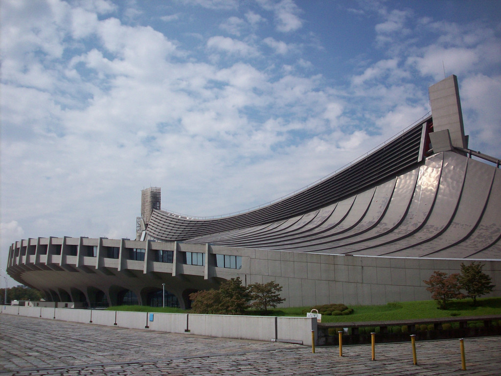 Gallery Of Ad Classics Yoyogi National Gymnasium Kenzo