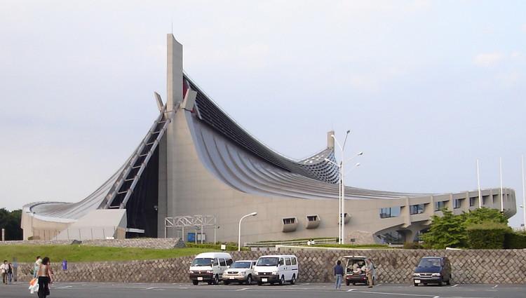 Ad Classics Yoyogi National Gymnasium Kenzo Tange