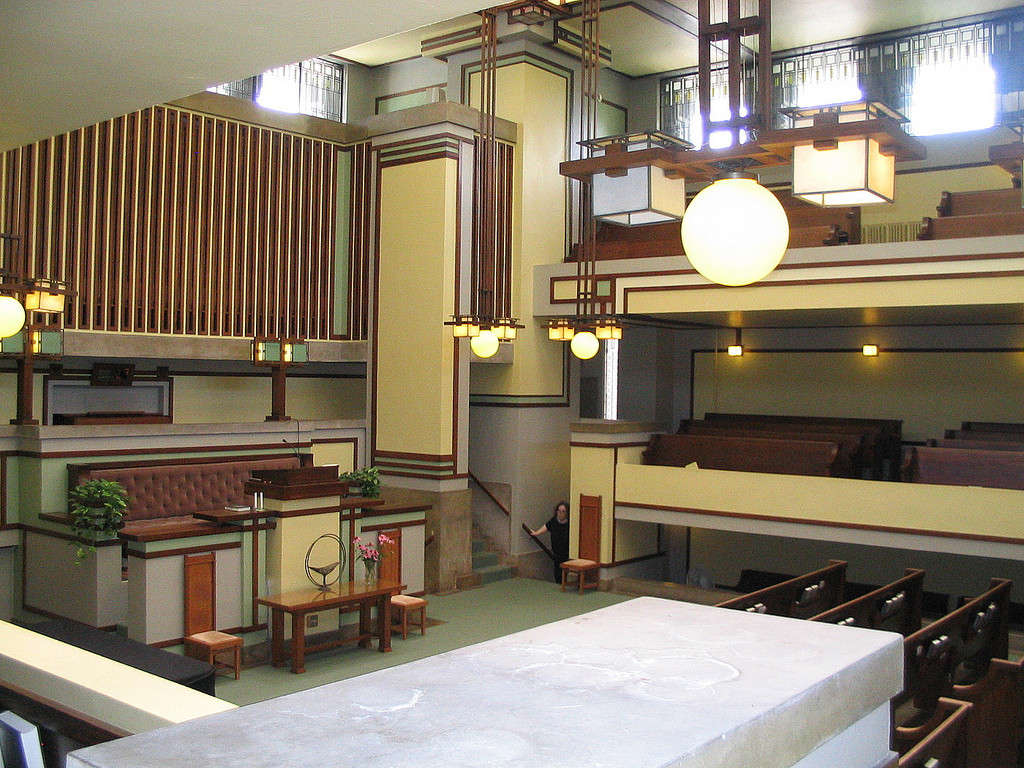 Gallery of AD Classics: Unity Temple / Frank Lloyd Wright - 16