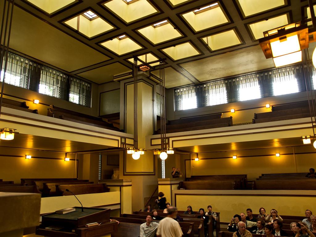 Gallery of AD Classics: Unity Temple / Frank Lloyd Wright - 5