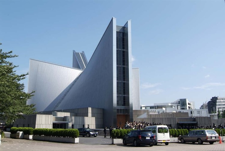 Ad classics st mary cathedral kenzo tange archdaily for Ad architects