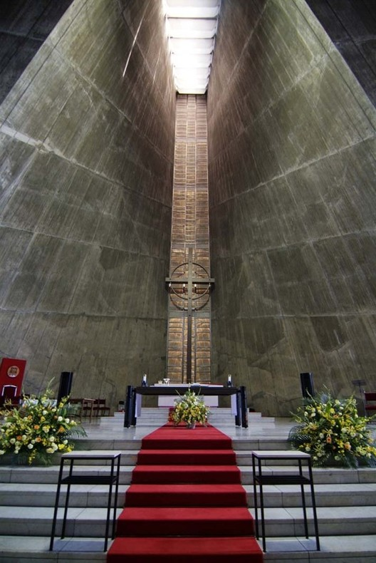 Ad Classics St Mary Cathedral Kenzo Tange Archdaily
