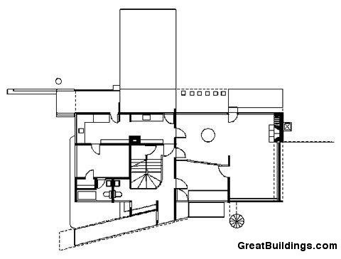 5038050728ba0d599b00095c Ad Classics Gropius House Walter Gropius Plan on elevation plan